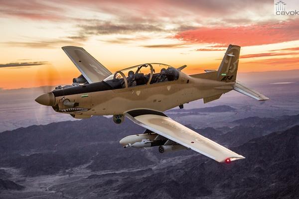 Wolveire AT-6 (Foto - Beechcraft Defense Company - Textron Aviation) (9)