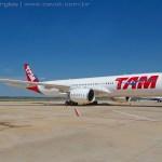 IMAGENS: TAM recebe seu primeiro Airbus A350 XWB