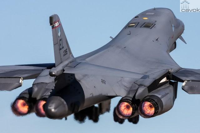 Rockwell B-1B Lancer, Foto - Matthew Wallman (1)