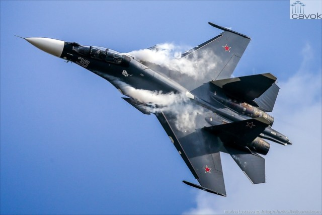Sukhoi Su-30SM - AVMF, by Marina Lystseva
