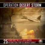 25 anos da Operação Tempestade no Deserto, a maior ofensiva aérea de todos os tempos