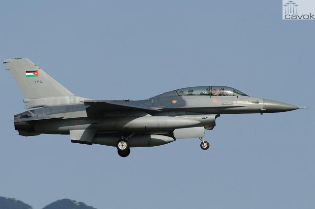 F-16B - Jordânia