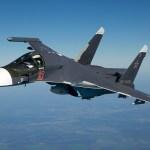 Bombardeiro tático Su-34 russo violou o espaço aéreo da Turquia