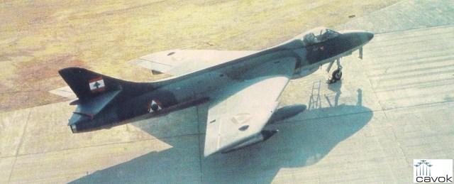 Em 1983, a pequena Força Aérea do Líbano perdeu vários dos seus antigos Hawker Hunter F.Mk 70 nas batalhas em torno de Beirute. Acredita-se que restaram apenas três deles.