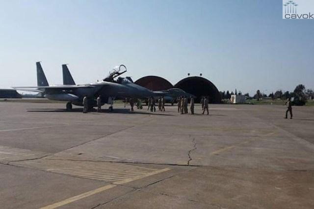 Caças F-15 sauditas já estão na Turquia (4)