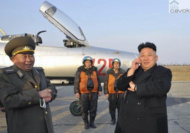 Coreia do Norte organiza seu primeiro Show Aéreo