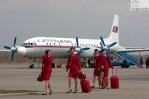 Demoratic Peoples Republic of Korea DPRK Il 18 - NHONHO AIR SHOW: Coreia do Norte organiza seu primeiro Show Aéreo