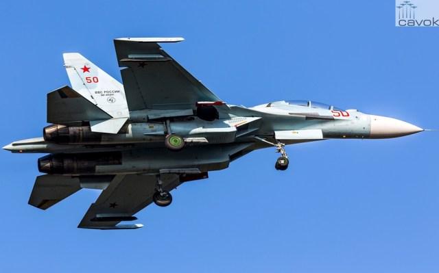 Su-30M2 – VKS, Foto - Alexander Lebedev