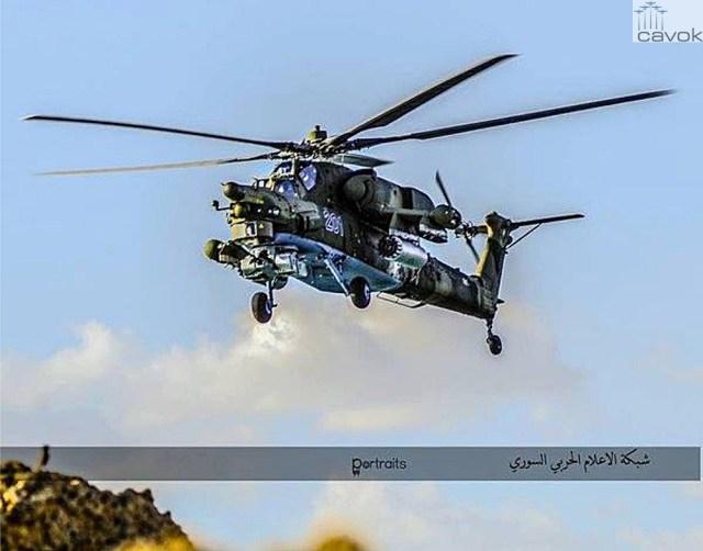 Mi-28N - VKS, em Latákia (2)