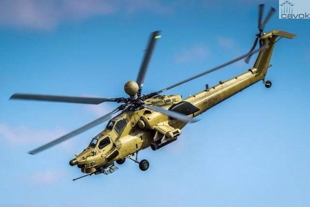 Mi-28UB - Foto - Erik Romanenko