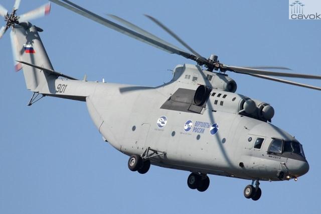Rostvertol Mi-26T2, Foto - Svido Stanislav