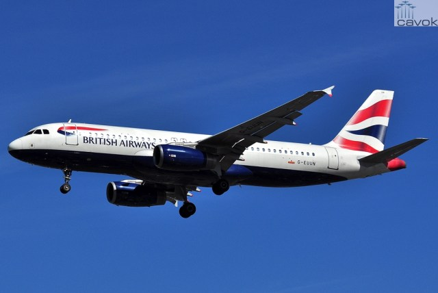 Airbus A320-232 - British Airways (G-EUUN)