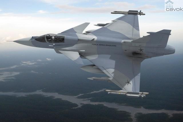 F-39E Gripen, Saab AB