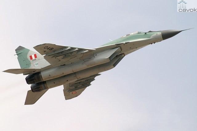 Peruvian Air Force Mikoyan-Gurevich MiG-29SE (9-13SE)
