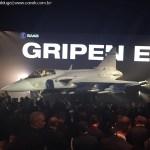 Confira as primeiras imagens do Gripen E (NG)