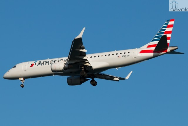Embraer 190AR (ERJ-190-100IGW) - American Airlines (1)