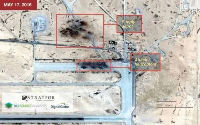 Estado Islâmico destrói Base Aérea síria usada pela Rússia (2)