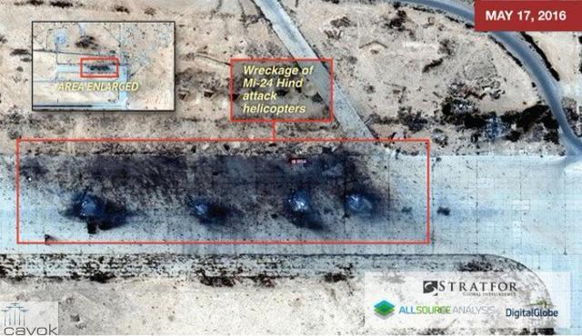 Estado Islâmico destrói Base Aérea síria usada pela Rússia (4)