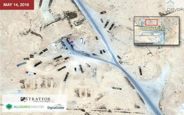 Estado Islâmico destrói Base Aérea síria usada pela Rússia (5)