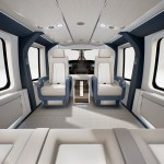 EBACE: Airbus Helicopters apresenta interior VIP do H160