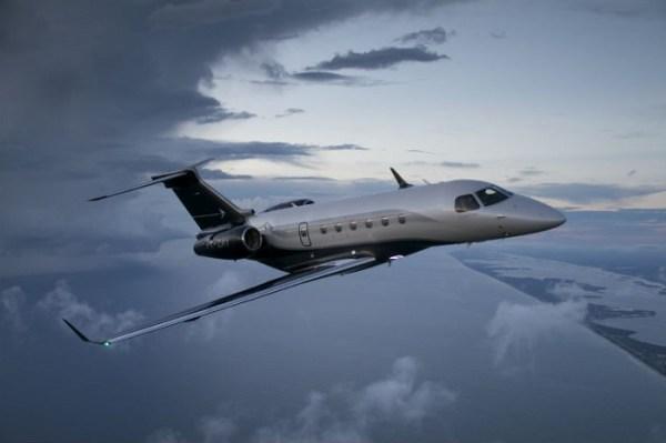 A mexicana Across encomendou 23 jatos da Embraer, incluindo 8 jatos Legacy 500. (Foto: Embraer)