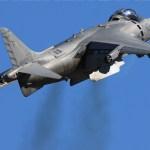 Acidente com AV-8B Harrier dos Marines nos EUA