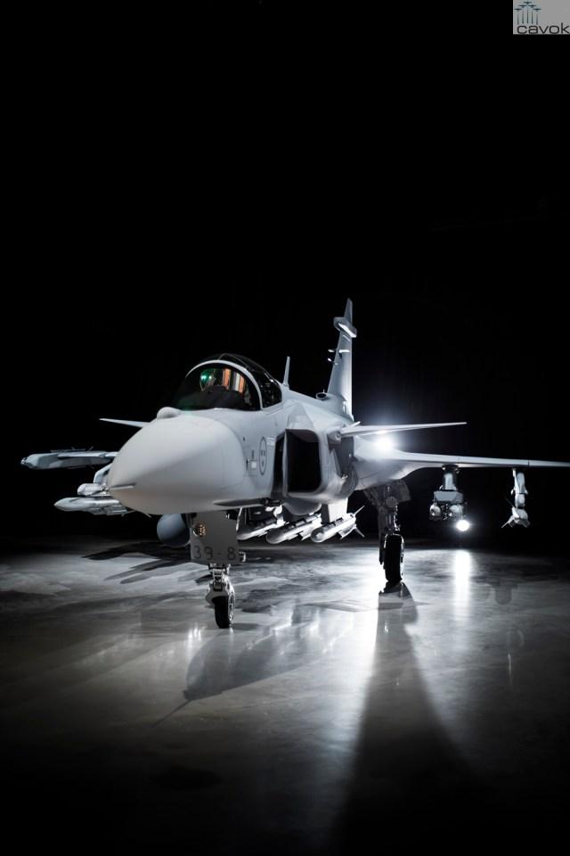Primeiro protótipo do Saab JAS 39E Gripen (39-8)