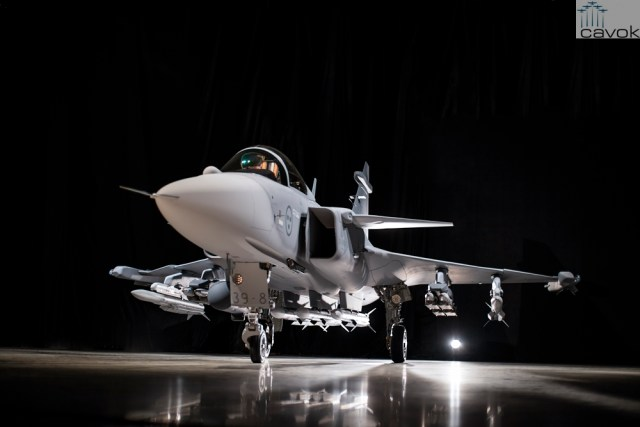 Primeiro protótipo do Saab JAS 39E Gripen 39 8 7 1 - Apresentando: Gripen E [contém informações importantes sobre o projeto]
