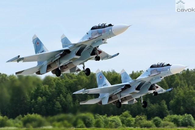 Su 30SM – VKS Foto Maxim Stankevich - Rússia não fornecerá caças e tanques ao Irã