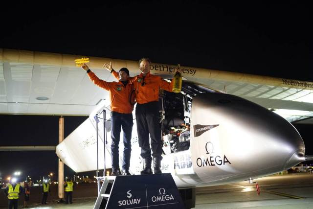solar impulse 2 Dayton