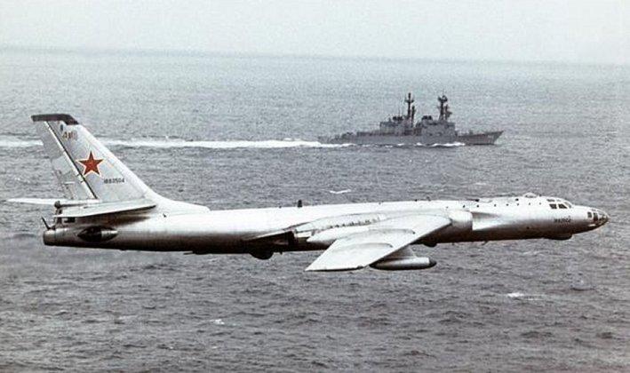 "tu 16 - Bombardeiros do pós-guerra: Tupolev Tu-16 ""Badger"""