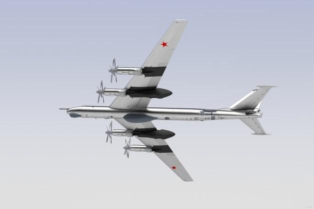 "tupolev tu 95 by firend2311 d72oftb - Bombardeiros do pós-guerra: Tupolev Tu-95 ""Bear"""