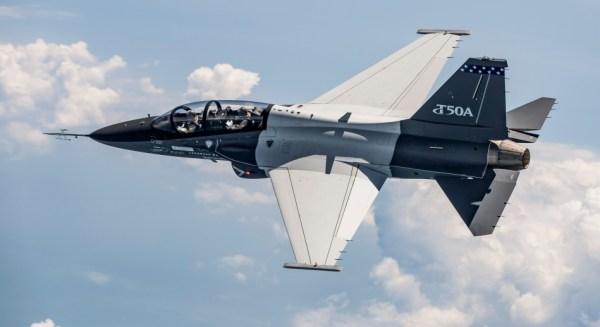 A segunda aeronave T-50A realizou o primeiro voo na Coreia do Sul. (Foto: Lockheed Martin)