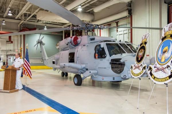 O último helicóptero MH-60R Seahawk entregue para Real Marinha Australiana. (Foto: Lockheed Martin)