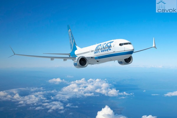A ALC encomendou seis novos Boeing 737 MAX 8s. (Foto: Boeing)