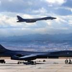 Depois de uma década, USAF destaca bombardeiros B-1B para Guam