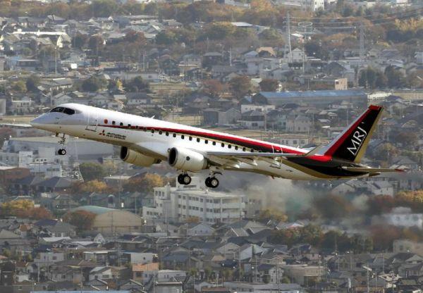 A japonesa Mitsubishi assinou com a Rockton sueca uma carta de inteção para até 20 jatos regionais. MRJ.