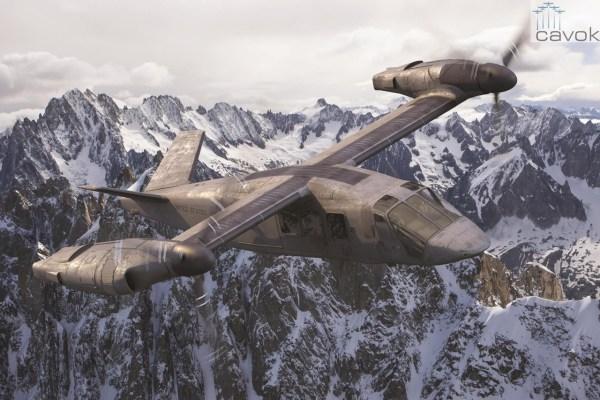 A Bell apresentou novas imagens e um modelo do V-280 Valor durante o Farnborough Airshow. (Foto: Bell Helicopters)