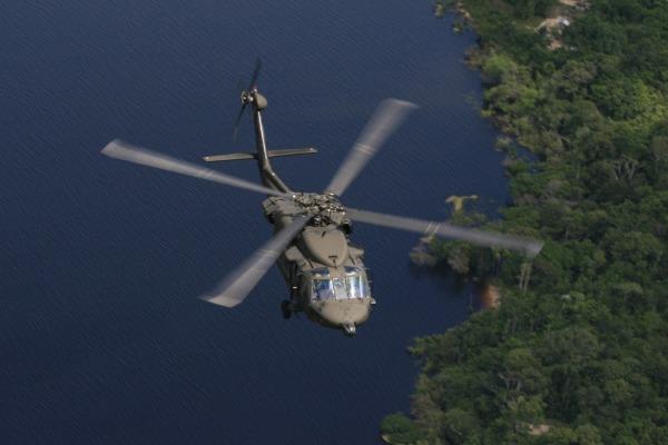Na região amazônica, o Esquadrão Harpia foi o primeiro a receber o Black Hawk. (Foto: Agência Força Aérea)