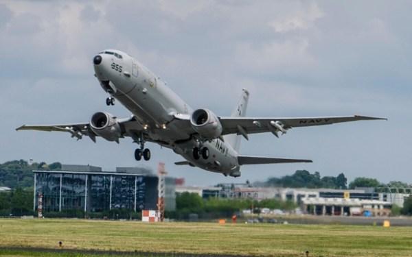 O Reino Unido adquiriru 9 aeronaves de patrulha marítima P-8A Poseidon para RAF.