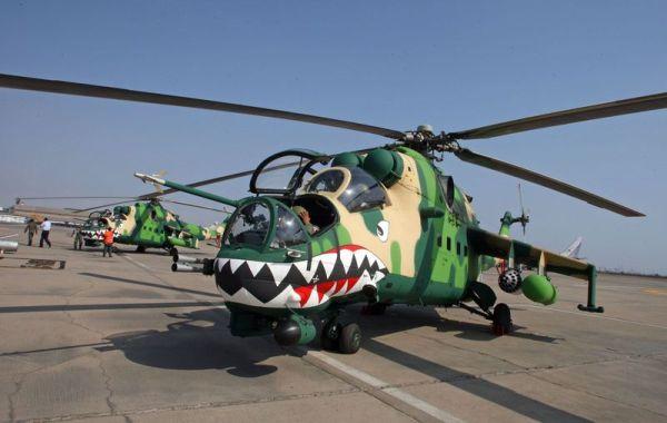 A Força Aérea do Peru adquiriu da Russian Helicopteros equipamentos de suporte para seus helicópteros Mi-35.