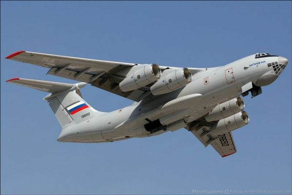 O Il-76MD-90A foi fabricado para realizar os voos de testes do programa de modernização da frota de aviões Il-76.