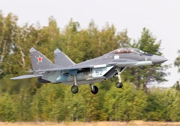 Um caça MiG-29K durante treinamento de pilotos no Centro de Formação de Yeysk. (Foto: Alexei Karpulev)