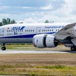 ANA recebe seu 50° Boeing 787 Dreamliner