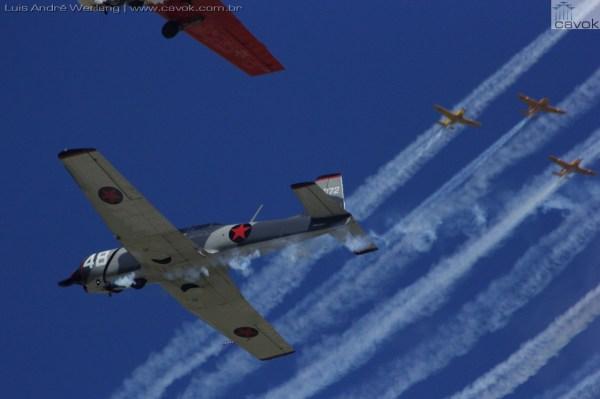 """""""Warbirds Extravaganza."""" (Foto: Luís André Werlang / Cavok)"""