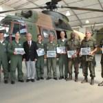 Helicóptero H-34 Super Puma é incorporado ao Museu Aeroespacial