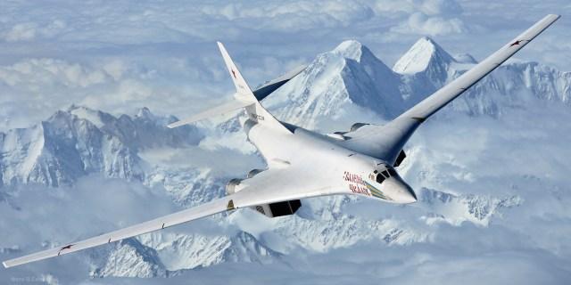 Air to air with a Tupolev Tu 160 - RÚSSIA: Tu-160M2 deve entrar em produção em série em 2022