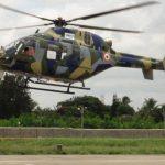 Primeiro voo do Helicóptero Utilitário Leve (LUH) indiano