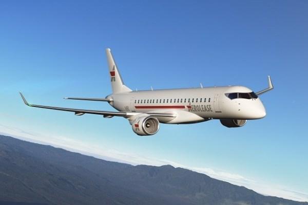 A Aerolease se tornou a primeira empresa de arrendamento de aeronaves a adquirir o jato regional da Mitsubishi, o MRJ. (Foto: Mitsubishi Aircraft)