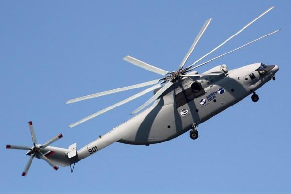 A Russian Helicopters está realizando uma grande atualização se seu helicóptero pesado Mi-26, o qual será designado Mi-26T2.